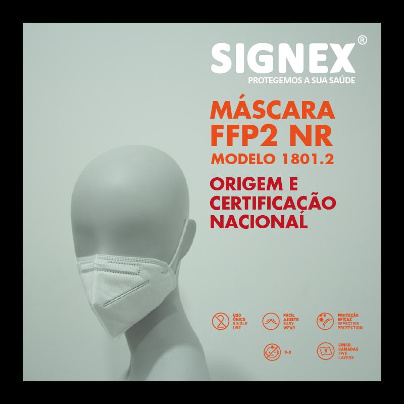 Máscaras FFP2 (1 CX - 10 uni)
